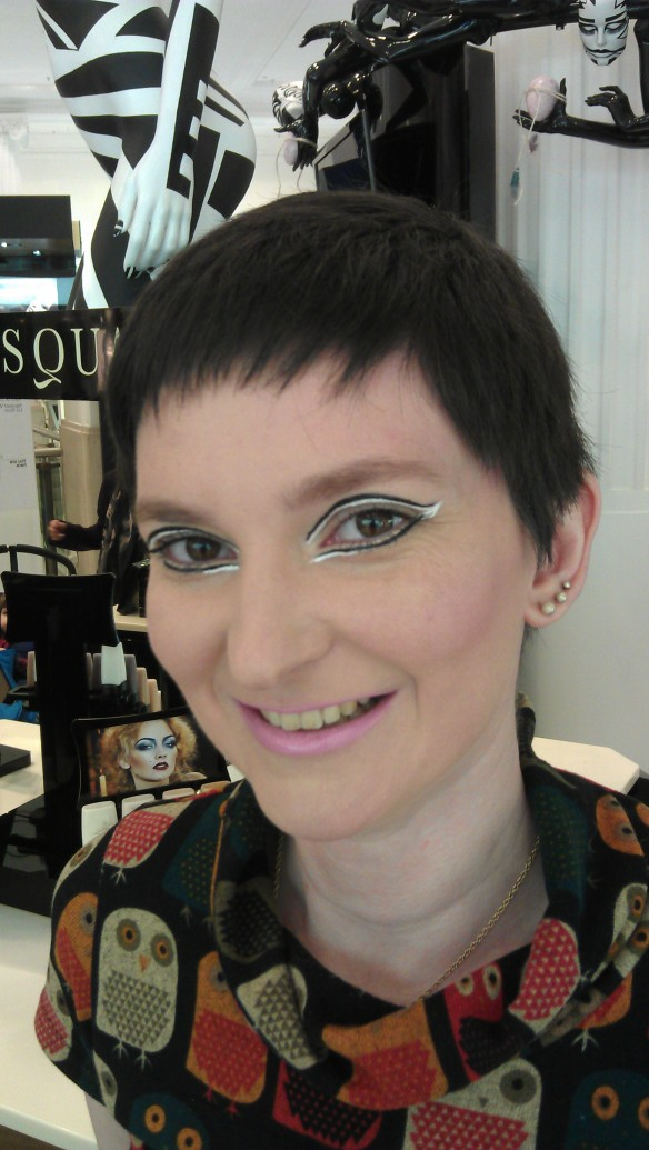 My day out with Selfridges Oxford Street Illamasqua counter